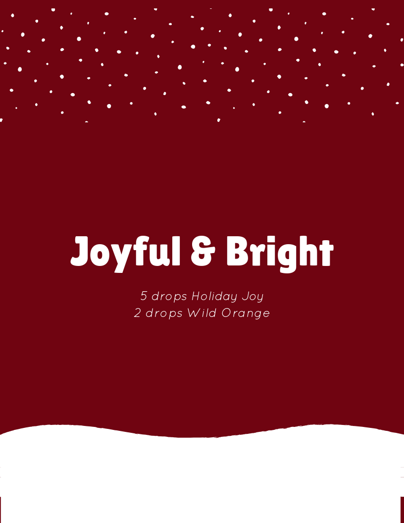 joyful and bright